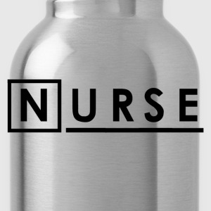 Nurse Shirt - Sky blue House Nurse T-Shirts - Water Bottle