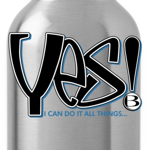 YES T-Shirts - Water Bottle
