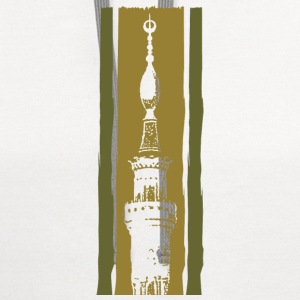 nabawi mosque - Contrast Hoodie