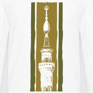 nabawi mosque - Men's Premium Long Sleeve T-Shirt