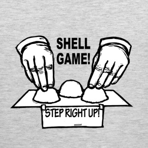 The shell game hustler - Men's Premium Tank