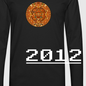Mayan Calendar & 2012 [sideload] - Men's Premium Long Sleeve T-Shirt