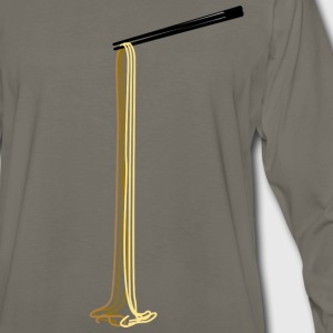 Long Noodles Chopsticks - Men's Premium Long Sleeve T-Shirt