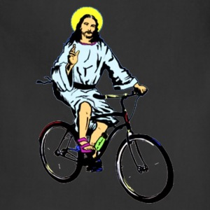 Christ on a bike - Adjustable Apron