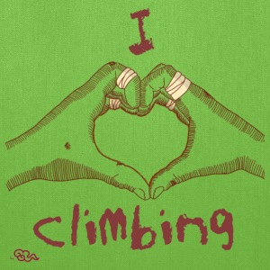 I love climbing Kid's - Tote Bag