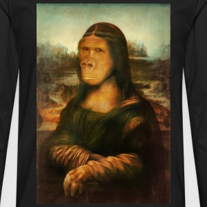 Mona Gorilla - Men's Premium Long Sleeve T-Shirt