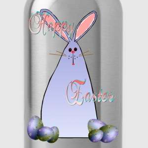 Purple Easter Bunny Lettered - Water Bottle