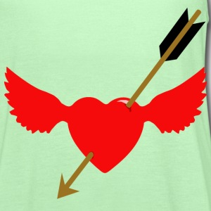 cupid at work - Women's Flowy Tank Top by Bella
