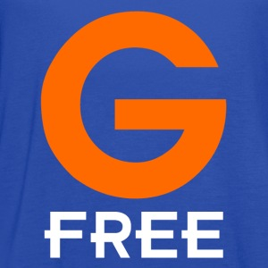 Royal blue G Free Gluten Free T-Shirts - Women's Flowy Tank Top by Bella