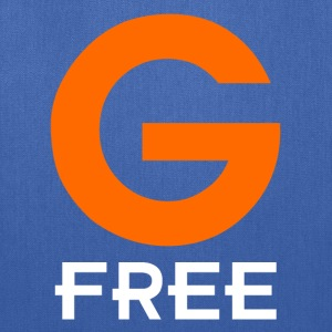Royal blue G Free Gluten Free T-Shirts - Tote Bag