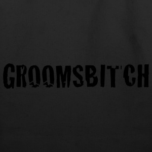Black groomsbitch - groomsman groom groomsmen T-Shirts - Eco-Friendly Cotton Tote
