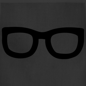 Black nerd glasses T-Shirts - Adjustable Apron