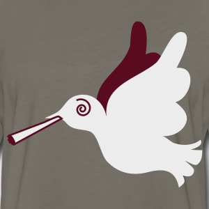 Gold stoned peace dove T-Shirts - Men's Premium Long Sleeve T-Shirt
