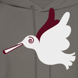 Brown stoned peace dove T-Shirts - Men's Hoodie