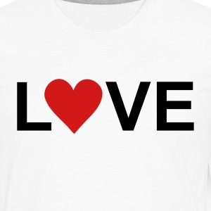 White love T-Shirts - Men's Premium Long Sleeve T-Shirt