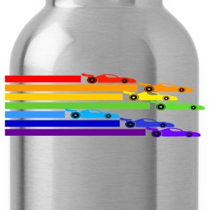 Ash  Rainbow Racers T-Shirts - Water Bottle