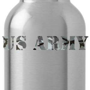 us army camo - Water Bottle