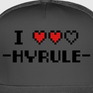 Forest green I Love Hyrule T-Shirts - Trucker Cap