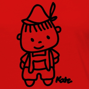 Red Little Boy T-Shirts - Women's Premium Long Sleeve T-Shirt