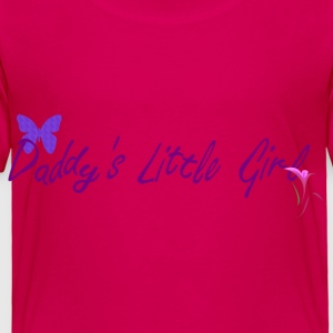 Children's Daddy's Little Girl T Shirt - Toddler Premium T-Shirt