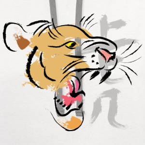 Chinese Year of Tiger - Contrast Hoodie