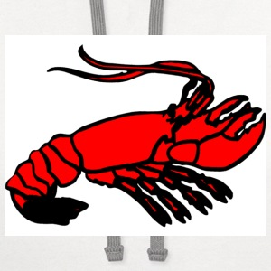Crawfish Cartoon  - Contrast Hoodie