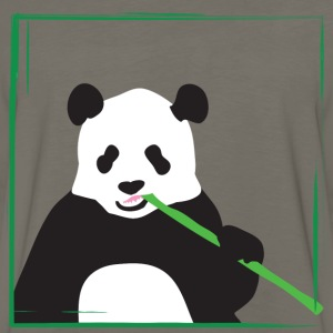 Yellow panda T-Shirts - Men's Premium Long Sleeve T-Shirt