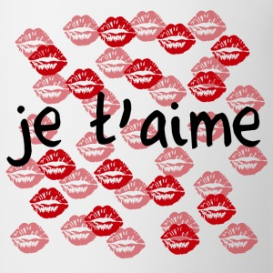 Je t'aime - Coffee/Tea Mug