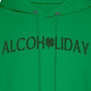 Forest green Alcoholiday T-Shirts - Men's Hoodie