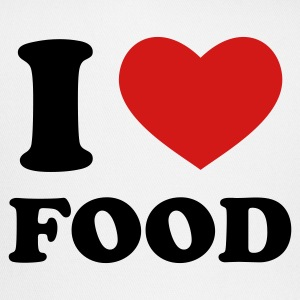 White I Love Food T-Shirts - Trucker Cap