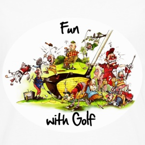 Fun with Golf - Men's Premium Long Sleeve T-Shirt