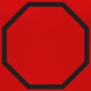 Red octagon T-Shirts - Women's Premium Long Sleeve T-Shirt