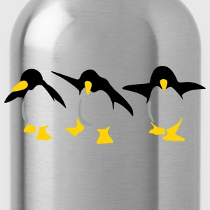 Red Penguins Plus Size - Water Bottle
