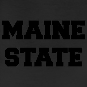 Navy maine state T-Shirts - Leggings