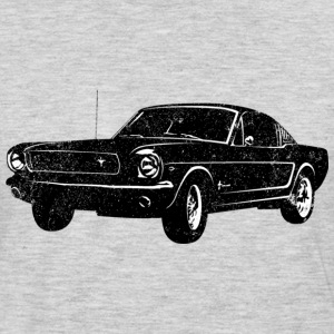 1964 Ford Mustang Fastback - Men's Premium Long Sleeve T-Shirt