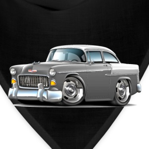1955 Chevy Belair Grey Car - Bandana