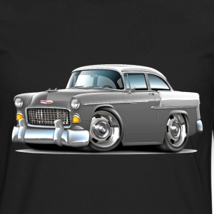1955 Chevy Belair Grey Car - Men's Premium Long Sleeve T-Shirt