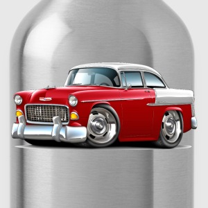 1955 Chevy Belair Red Car - Water Bottle