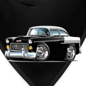 1955 Chevy Belair Black Car - Bandana
