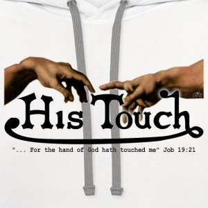 His Touch by GP Wear T-Shirts - Contrast Hoodie