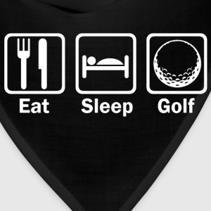 Eat sleep golf - Bandana