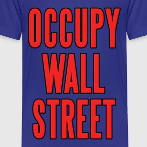 Occupy Wall Street Kids' Shirts - Toddler Premium T-Shirt