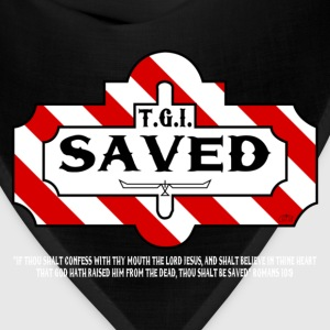 TGI Saved by GP Wear T-Shirts - Bandana