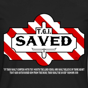 TGI Saved by GP Wear T-Shirts - Men's Premium Long Sleeve T-Shirt