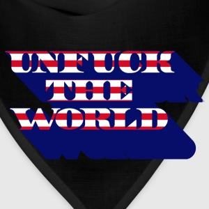 unfuck the world T-Shirts - Bandana
