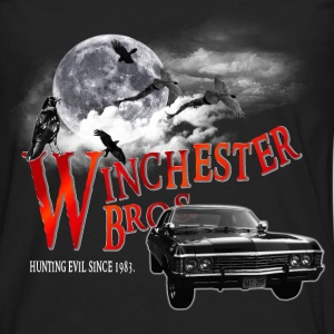 Winchester Bros Hunting Evil Since 1983 1967 chevr T-Shirts - Men's Premium Long Sleeve T-Shirt