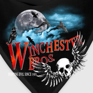 Winchester Bros Hunting Evil Since 1983 Moon Cloud T-Shirts - Bandana