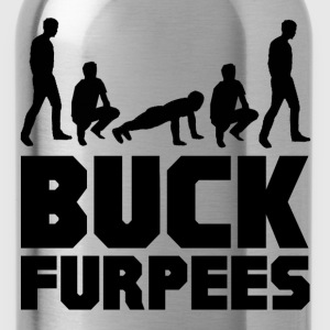 Buck Furpees Burpees Fitness T-Shirts - Water Bottle