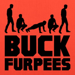 Buck Furpees Burpees Fitness T-Shirts - Tote Bag