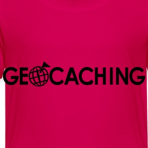 Hot pink Geocaching Kids' Shirts - Toddler Premium T-Shirt